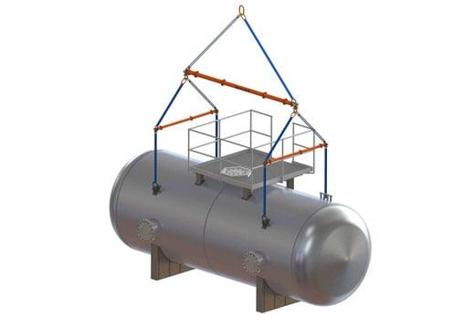 pressure-vessel-lifting-system